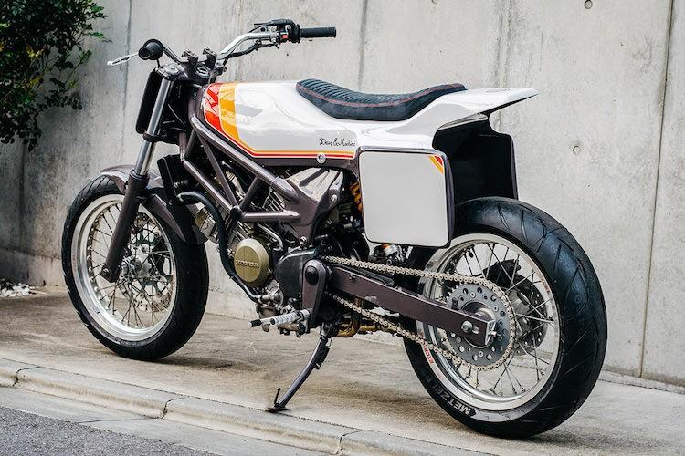 """Naked-bike Honda VTR250 """"lot xac"""" flat track cuc doc-Hinh-6"""