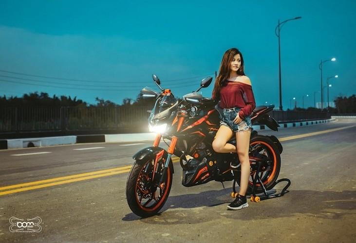 """""""Hot Teen"""" Viet do dang Yamaha FZ150i do Kawasaki Z1000-Hinh-2"""