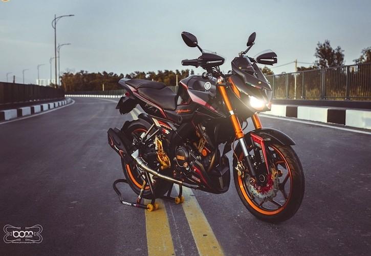 """""""Hot Teen"""" Viet do dang Yamaha FZ150i do Kawasaki Z1000-Hinh-3"""