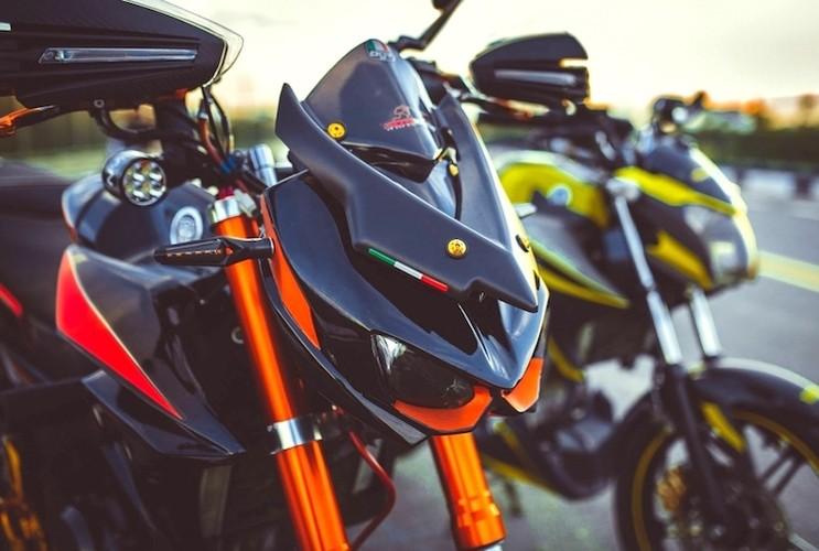 """""""Hot Teen"""" Viet do dang Yamaha FZ150i do Kawasaki Z1000-Hinh-4"""