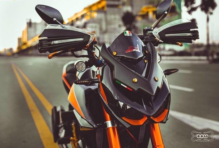"""""""Hot Teen"""" Viet do dang Yamaha FZ150i do Kawasaki Z1000-Hinh-5"""