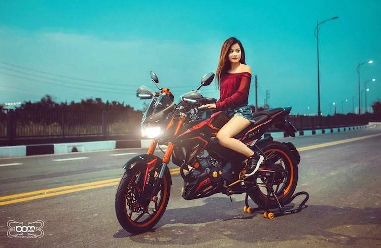 """""""Hot Teen"""" Viet do dang Yamaha FZ150i do Kawasaki Z1000-Hinh-7"""