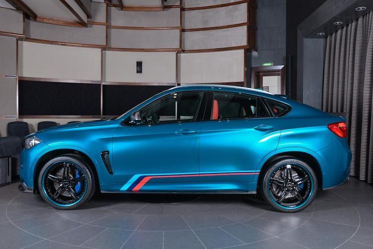 "Dan choi A Rap do ""full option"" sieu SUV BMW X6M-Hinh-4"