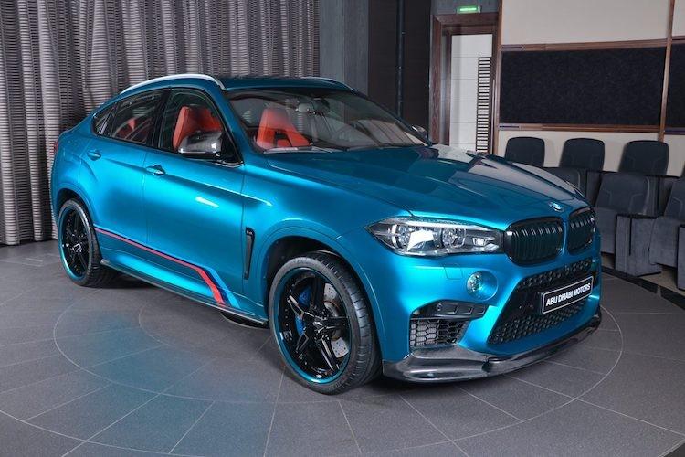 "Dan choi A Rap do ""full option"" sieu SUV BMW X6M-Hinh-8"