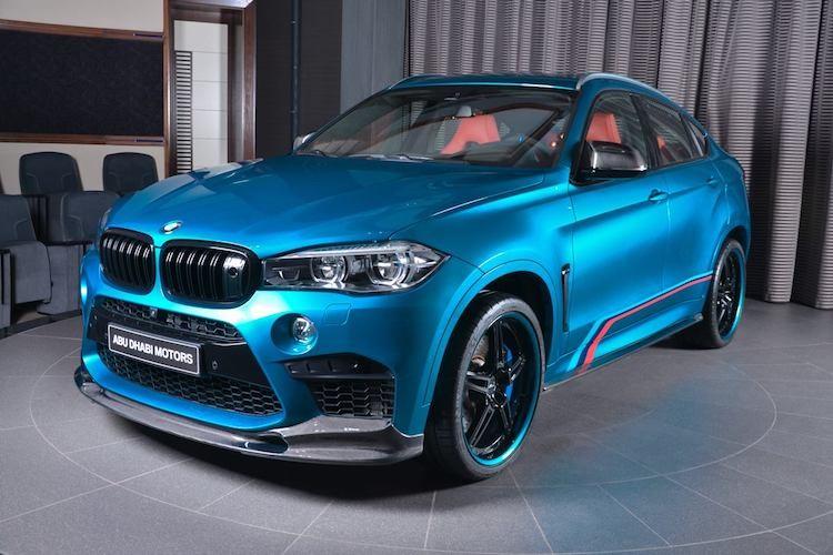 "Dan choi A Rap do ""full option"" sieu SUV BMW X6M"