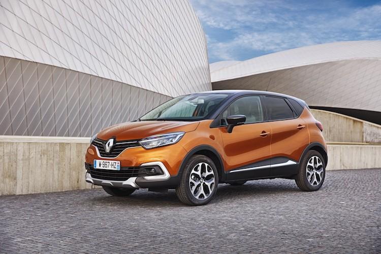 """Renault Captur moi co gi de """"ha do van"""" Ford EcoSport?"""