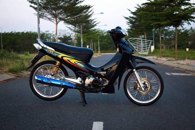 """Dan choi Long An """"do kieng"""" Honda Wave 125 sieu chat-Hinh-2"""