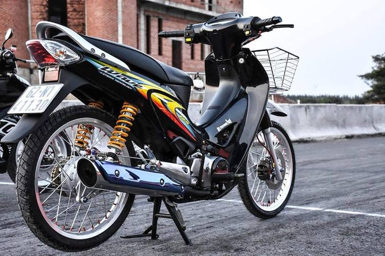 """Dan choi Long An """"do kieng"""" Honda Wave 125 sieu chat-Hinh-8"""