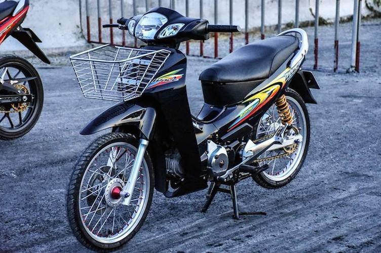 """Dan choi Long An """"do kieng"""" Honda Wave 125 sieu chat"""