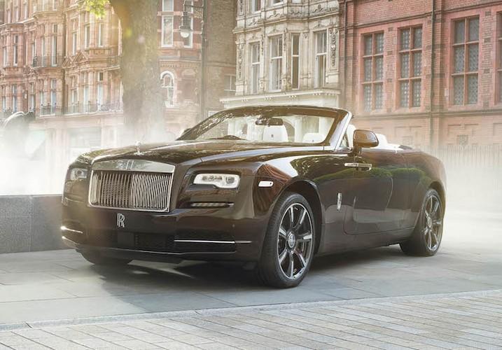 "Chi tiet mui tran ""sieu sang chanh"" Rolls-Royce Dawn Mayfair"