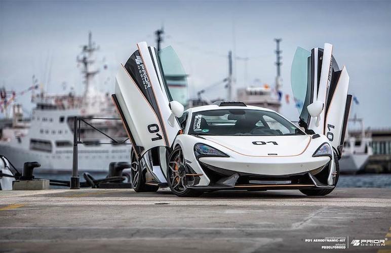 Sieu xe gia re McLaren 570S dang cap voi goi do khung