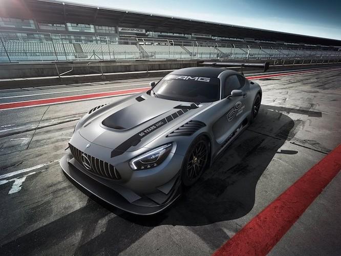 """""""Xe hop"""" sieu khung, sieu hiem Mercedes-AMG GT3 Edition 50"""