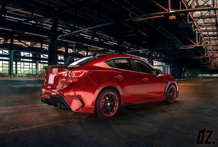 """Mazda3 dep nhu sieu xe nho bodykit """"made in Vietnam""""-Hinh-2"""