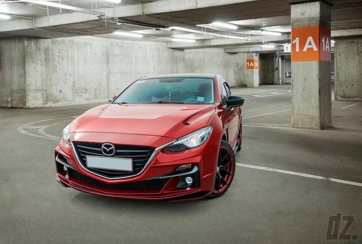 """Mazda3 dep nhu sieu xe nho bodykit """"made in Vietnam""""-Hinh-3"""