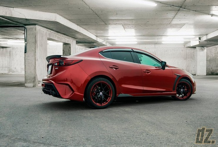 """Mazda3 dep nhu sieu xe nho bodykit """"made in Vietnam""""-Hinh-4"""