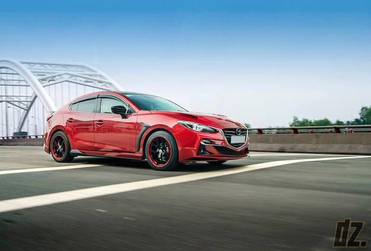 """Mazda3 dep nhu sieu xe nho bodykit """"made in Vietnam""""-Hinh-6"""