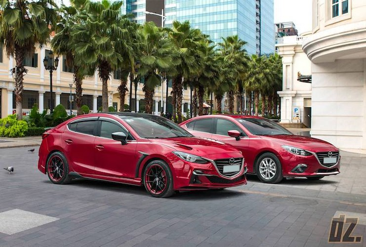"""Mazda3 dep nhu sieu xe nho bodykit """"made in Vietnam""""-Hinh-7"""