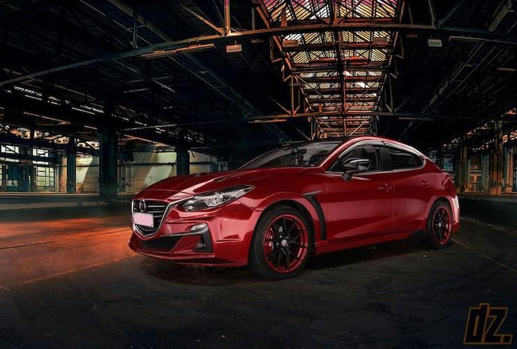 """Mazda3 dep nhu sieu xe nho bodykit """"made in Vietnam"""""""