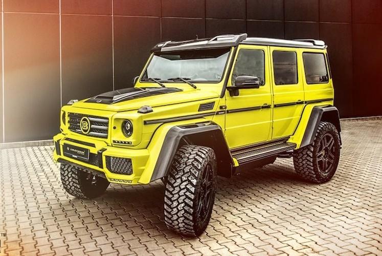 """Phuot thu"" Mercedes G500 4x4² do sieu manh, sieu sang-Hinh-2"