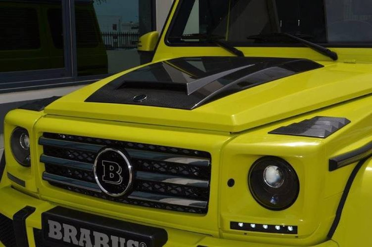"""Phuot thu"" Mercedes G500 4x4² do sieu manh, sieu sang-Hinh-6"
