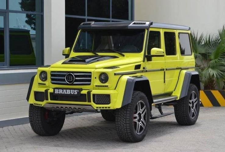 """Phuot thu"" Mercedes G500 4x4² do sieu manh, sieu sang-Hinh-7"