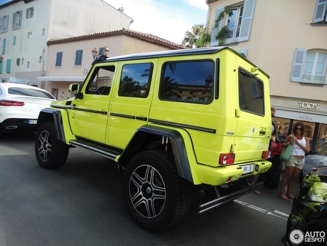 """Phuot thu"" Mercedes G500 4x4² do sieu manh, sieu sang-Hinh-8"