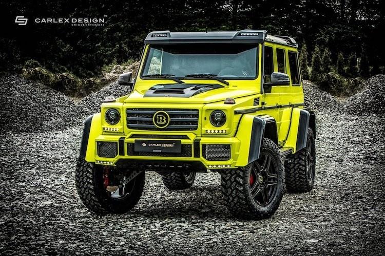 """""""Phuot thu"""" Mercedes G500 4x4² do sieu manh, sieu sang"""