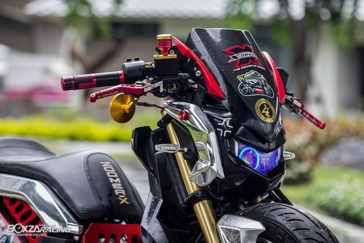Xe tay ga Honda Zoomer X sieu khung phong cach Nhat-Hinh-4