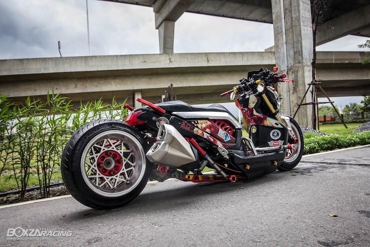 Xe tay ga Honda Zoomer X sieu khung phong cach Nhat-Hinh-5