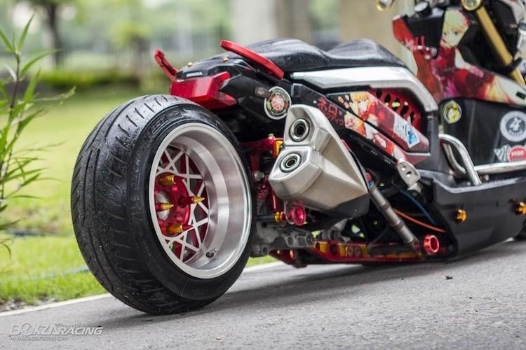 Xe tay ga Honda Zoomer X sieu khung phong cach Nhat-Hinh-7