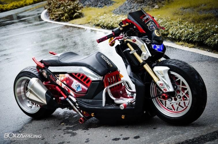 Xe tay ga Honda Zoomer X sieu khung phong cach Nhat-Hinh-8
