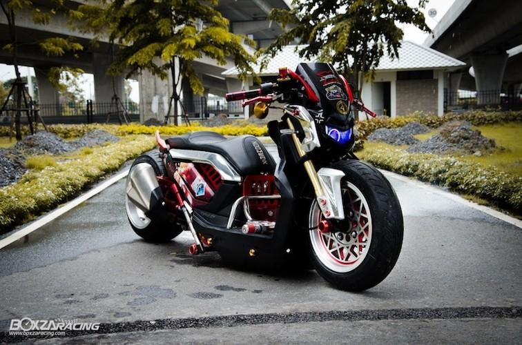 Xe tay ga Honda Zoomer X sieu khung phong cach Nhat
