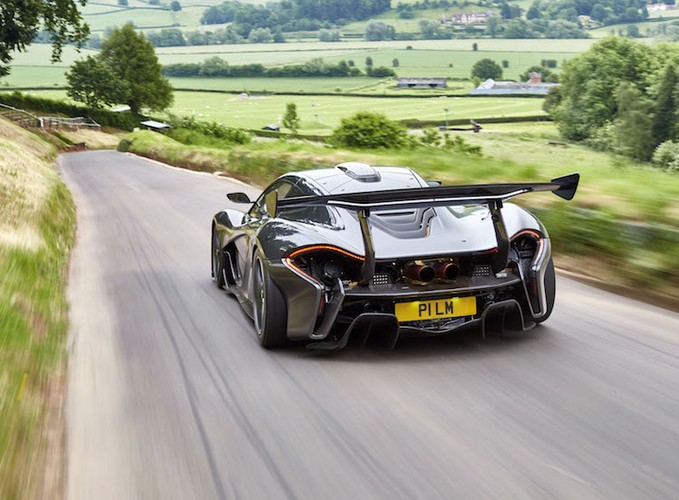 Sieu xe McLaren P1 LM trieu do lap ky luc The gioi-Hinh-7