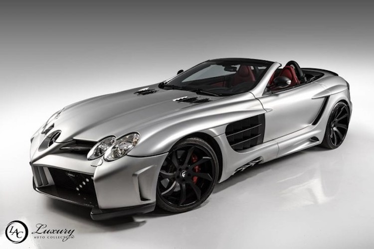 "Sieu mui tran Mercedes SLR McLaren ""sieu hiem"" gia 9 ty"