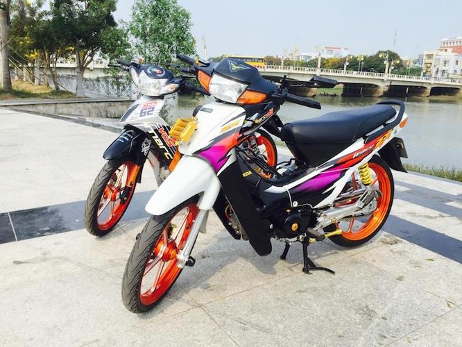 "Bo doi Honda Wave va Yamaha Sirius ""hang khung"" tai VN"