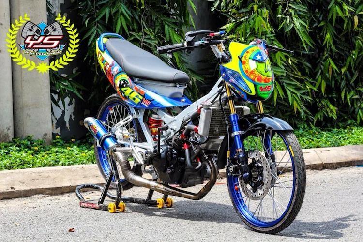 """""""Xe no"""" Honda Sonic 125 do sieu xe drag tai Viet Nam-Hinh-2"""