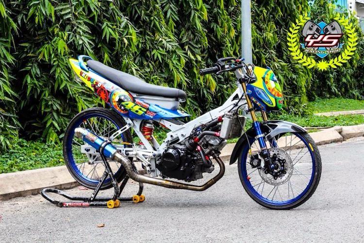 """""""Xe no"""" Honda Sonic 125 do sieu xe drag tai Viet Nam-Hinh-8"""