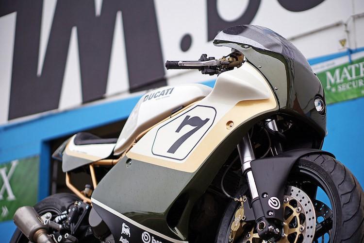 "Moto dua Ducati cafe racer do sieu dep tu ""hang bai""-Hinh-4"