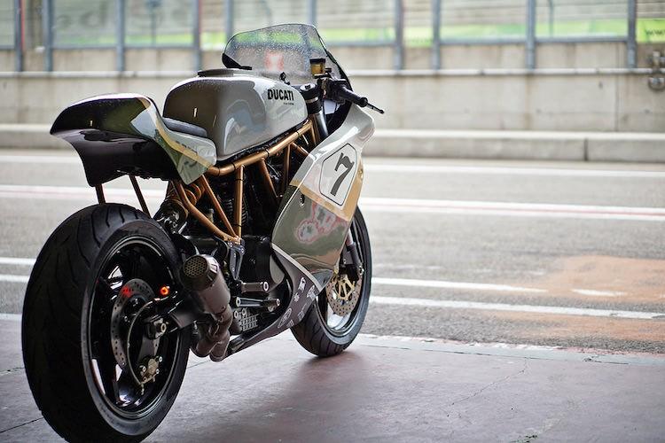 "Moto dua Ducati cafe racer do sieu dep tu ""hang bai""-Hinh-9"