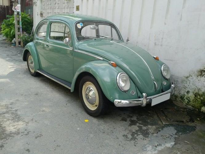 """Soi """"con bo"""" Volkswagen Beetle gia 400 trieu tai Sai Gon"""