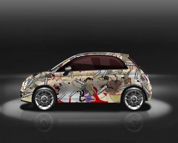 """Do mat"" voi xe oto mini Fiat 500 ve day hinh 18+-Hinh-2"