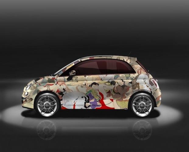 """Do mat"" voi xe oto mini Fiat 500 ve day hinh 18+-Hinh-5"