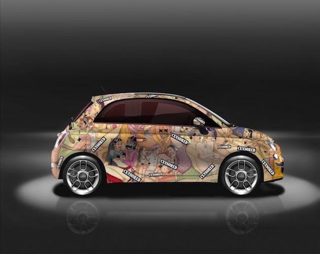 """Do mat"" voi xe oto mini Fiat 500 ve day hinh 18+-Hinh-6"