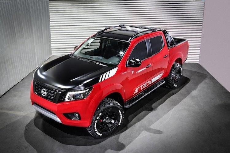 """Nissan Navara """"sieu ngau"""" moi se ha be Ford Ranger"""