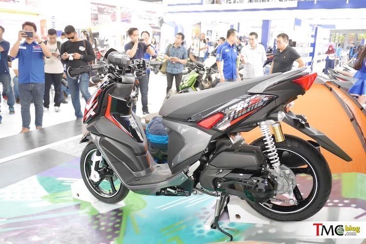 Yamaha trinh lang xe ga X-Ride 125 gia 29,4 trieu-Hinh-2