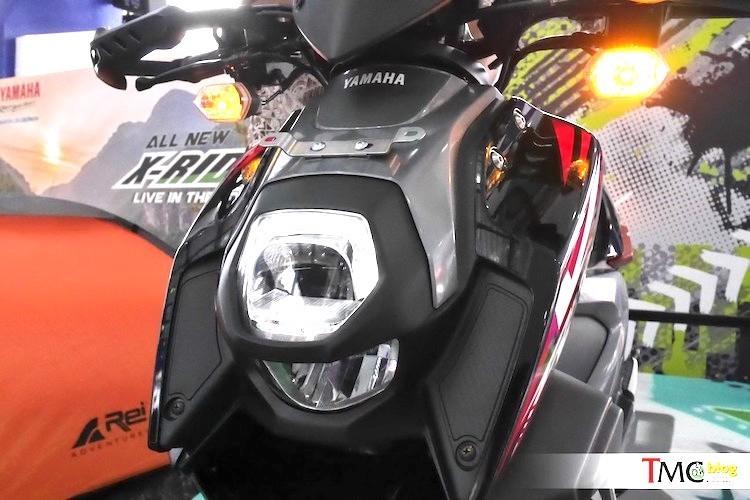 Yamaha trinh lang xe ga X-Ride 125 gia 29,4 trieu-Hinh-3