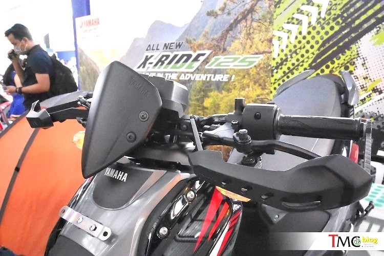 Yamaha trinh lang xe ga X-Ride 125 gia 29,4 trieu-Hinh-4