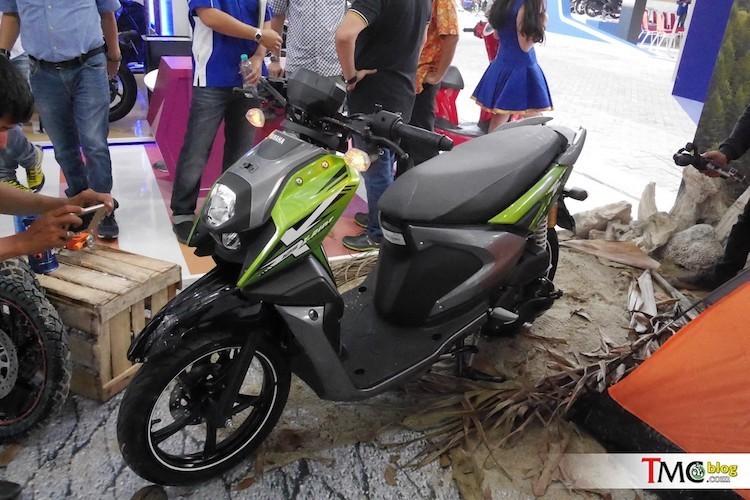 Yamaha trinh lang xe ga X-Ride 125 gia 29,4 trieu