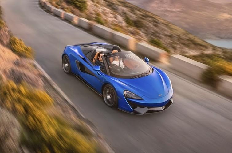 """Sieu xe mui tran McLaren 570S Spider """"chot gia"""" 3,7 ty-Hinh-5"""