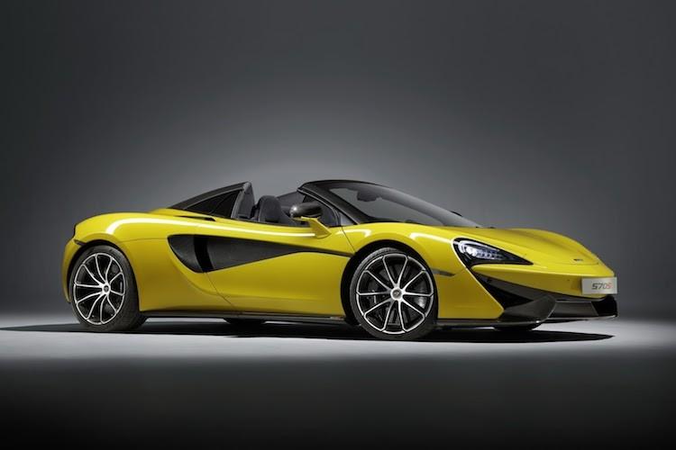 """Sieu xe mui tran McLaren 570S Spider """"chot gia"""" 3,7 ty"""